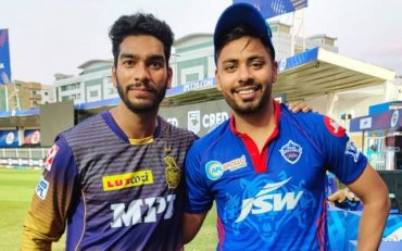 Venkatesh Iyer and Avesh Khan